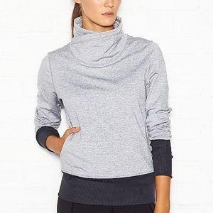 Lucy Cardio Sculpt Gray Pullover Sweatshirt Size S